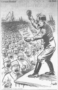 "<p><span style=""font-size: 1em; background-color: transparent;"">Cartoon featured in the April 3, 1933 edition of The Dallas Morning News.</span></p>(John Knott/The Dallas Morning News)"