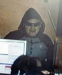 Police are looking for this man who robbed a Chase bank Tuesday.(Richardson Police Department)