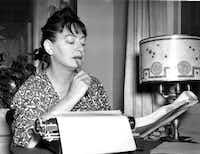 Dorothy Parker in 1941.((DMN file)/AP)