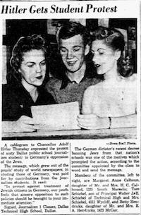 Nov. 18, 1938(The Dallas Morning News)