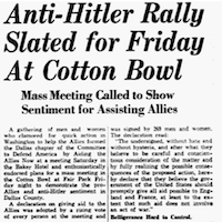June 9, 1940(The Dallas Morning News)