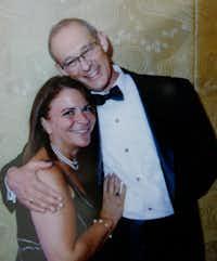 Rabbi Stefan Weinberg and his wife, Wende Weinberg. Wende died of lung cancer in December 2016.(Stefan Weinberg)