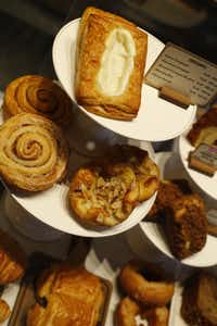 The pastry selection at Starbucks  in the Shops at Park Lane, Dallas, Texas April 14, 2015.(Nathan Hunsinger/Staff Photographer)