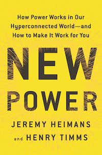 Book cover for New Power by Jeremy Heimans and Henry Timms(Doubleday)