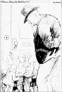 "<p><span style=""font-size: 1em; background-color: transparent;"">Cartoon featured in the July 7, 1939 edition of The Dallas Morning News.</span></p>(John Knott/The Dallas Morning News)"