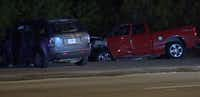 The crash on Canada Drive totaled both vehicles, killing both drivers and injuring their passengers.(Metro Video)