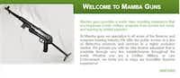 A screenshot from Mamba Guns website(Mamba Guns)
