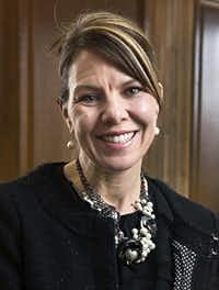 Jennifer Riordan, of Albuquerque, N.M., in a 2017 photo.(Marla Brose/The Albuquerque Journal)