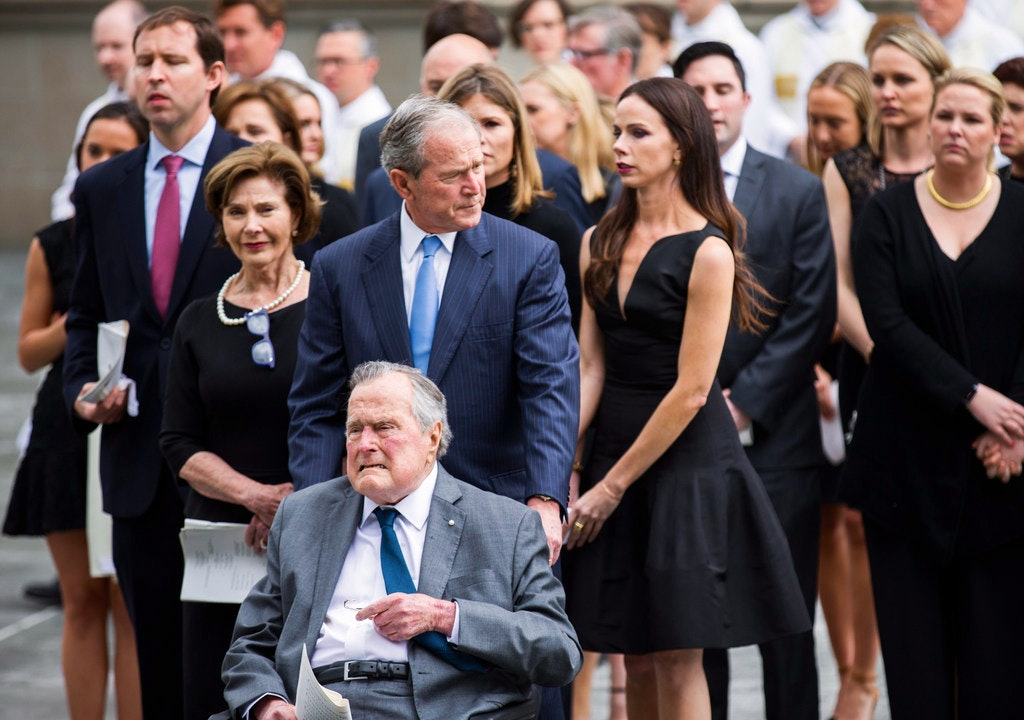 Barbara Bush Was Real Funeral Celebrates Life Of Enforcer Who