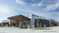 T. Howard+Associates' rendering of a new health clinic for southern Dallas.(Courtesy photo)