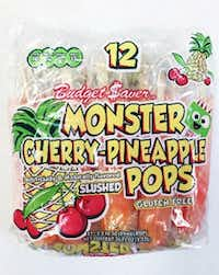 These ice pops produced in West Virginia and sold in Texas are under a voluntary recall issued by the company.(FDA)