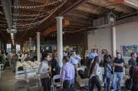 Dallas Entrepreneur Center has become a hub for startups in downtown Dallas' West End. It hosts events, provides networking opportunities and rents office space. (Kye Lee/Special Contributor)