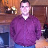 Scott Painter, 26, was working as a loss-prevention officer at Home Depot on Tuesday afternoon.(Facebook)