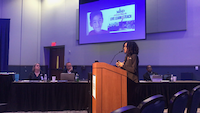 Mansfield ISD parent Tanika Dean said she supported the district's decision to suspend Charlotte Anderson Elementary art teacher Stacy Bailey. (Elvia Limon/Staff)