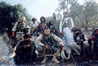 Brandon Friedman (far left) in Afghanistan.(Courtesy Brandon Friedman)