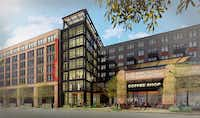 Crescent Communities is building a retail and apartment project on Canton Street in the Deep Ellum area of Dallas.(Crescent Communities)