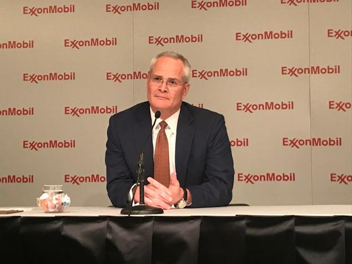 Exxon CEO Darren Woods(Melissa Repko/Staff)