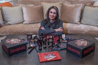 Regina Merson dropped her legal career to start Reina Rebelde, a makeup company that caters to Latina women.(Rex C. Curry/Special Contributor)