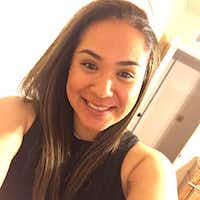 Crystal Almeida was badly wounded in Tuesday's shooting but is recovering.(Facebook)