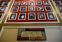 The Wall of Honor celebrates residents who are veterans and who live at the Treemont Retirement Community.(Ben Torres/Special Contributor)