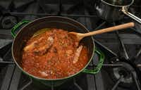 Julian Barsotti's Sunday gravy(Rex C Curry/Special Contributor)