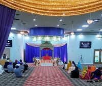 Gurdwara Sikh Sangat, a new Sikh temple, opened this month in Euless. (Courtesy)