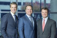 """<p><span style=""""font-size: 1em; background-color: transparent;"""">Scott Wilson, Jeff Staubach and Marc Goldman are partners in the new Staubach Capital.</span></p>(Stacey Jemison/Staubach Capital)"""