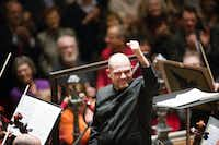 Jaap van Zweden and the Dallas Symphony Orchestra performed in the Amsterdam Concertgebouw on March 12, 2013.(Jiri Buller/File Photo)