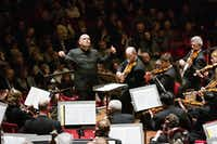 Jaap van Zweden conducted the Dallas Symphony Orchestra in the Amsterdam Concertgebouw on March 12, 2013.( /Jiri Buller)