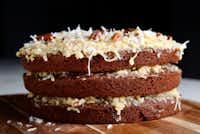 German Sweet Chocolate Cake(Rose Baca/Staff Photographer)