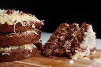 German Chocolate Cake(Rose Baca/Staff Photographer)