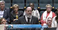 Rabbi Yaakov Rich went to Dallas City Hall last month to ask for a break on the parking. He did not get it.