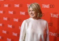 Martha Stewart will get the Great Contributor to Art Award from the Dallas Arboretum and Botanical Garden on Friday.(Angela Weiss/Agence France-Presse)