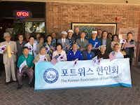 The Korean Association of Fort Worth celebrates Parents Day at Omi Restaurant in Arlington.(Deborah Fleck/Staff)