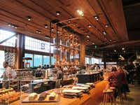 In addition to all kinds of specialty coffees, Starbucks Reserve Roastery in Seattle serves hand-crafted eats. (Robin Soslow/Special Contributor)