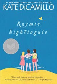Raymie Nightingale is written by two-time Newbery Medal-winner Kate DiCamillo.(Candlewick Press)