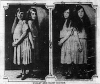 1924: Souvenir photo of the sisters, sold at the Texas State Fair.(DMN File)