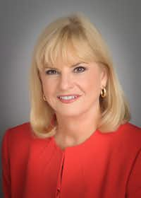 Linda Perryman Evans, president and chief executive officer of the Meadows Foundation, is one of first three women members of the Salesmanship Club of Dallas.