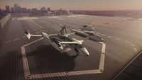"<p><span style=""background-color: transparent; font-size: 1em;"">Uber introduced it's electric powered ""flying taxi"" vertical take-off and landing concept aircraft Tuesday at the Uber Elevate Summit in Los Angeles.</span></p>"