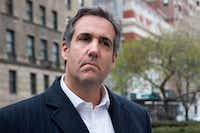 AT&T admits that it paid President Donald Trump's longtime personal attorney Michael Cohen. It said Cohen provided insights, not legal or lobbying work.(Mary Altaffer/AP)