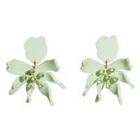 Daffodil earrings from Lele Sadoughi, $168(Forty Five Ten)
