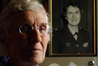 Lt. Col. Hattie Brantley, an Army nurse, spent three years as a prisoner of war in the Philippines during World War II.  (2002 File Photo/Staff)