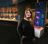 "<p><span style=""font-size: 1em; background-color: transparent;"">""It's part of our human story,"" said Perot Museum CEO Linda Silver. ""In order to investigate what it means to be human, we need to think about what our ancestry is. Where did we come from? How did we get here?""</span></p>(Louis DeLuca/Staff Photographer)"
