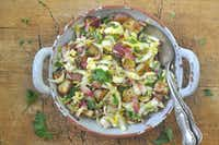 Roasted New Potatoes and Endive Salad(Ellise Pierce/Special Contributor)