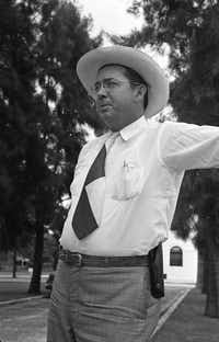 Willis McCall, Sheriff of Lake County, Florida, in 1949.  (Wallace Kirkland/The LIFE Picture Collection )