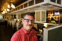 Joe Groves is managing partner at Ellen's in Dallas, which has found itself at the center of the national gun rights debate after he posted a pro-gun regulation message on the restaurant's receipts during the NRA Annual Meeting.(Ron Baselice/Staff Photographer)