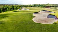 The green fairways of Trinity Forest Golf Club in Dallas, which uses new Trinity Zoysia turf grass, developed at Bladerunner Farms in Poteet, Texas.(Nick Menger, assistant superintendent at Cordillera Ranch)