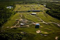 Trinity Forest Golf Club, the new home of the AT&T Byron Nelson.(Smiley N. Pool/Staff Photographer)
