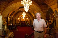Andrew Lloyd Webber was interviewed at the Hollywood Pantages Theatre in Los Angeles on May 3, 2018. The Oscar- and Tony-winning composer was in town for the Los Angeles premiere of  <i>School of Rock The Musical</i>. (Damian Dovarganes/The Associated Press)