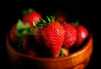 Strawberries can be sweet or even used in savory dishes.(Vernon Bryant/Staff Photographer)